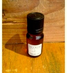 Perfume Oil. A base of almond oil with a mix of aromatic essential oils for an earthy, androgynous perfume.